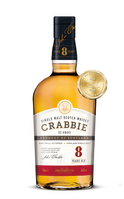 Crabbie 8 Year Old Whisky
