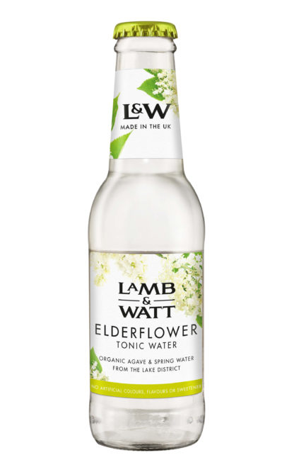 Lamb & Watt Elderflower Tonic Water