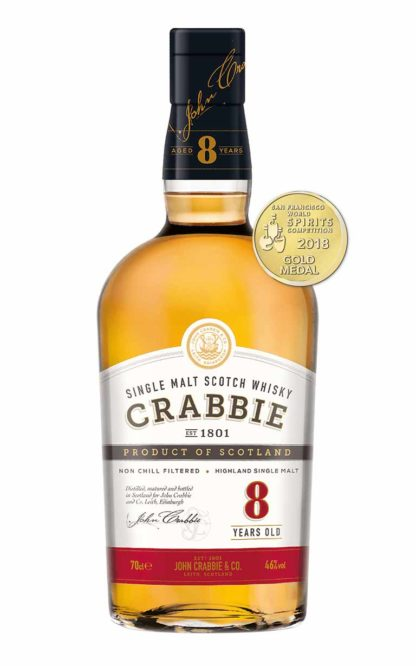 Crabbie Whisky 8yrs old