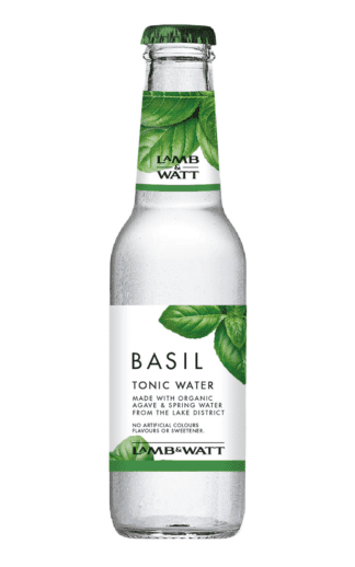 Lamb and Watt Basil Tonic Water