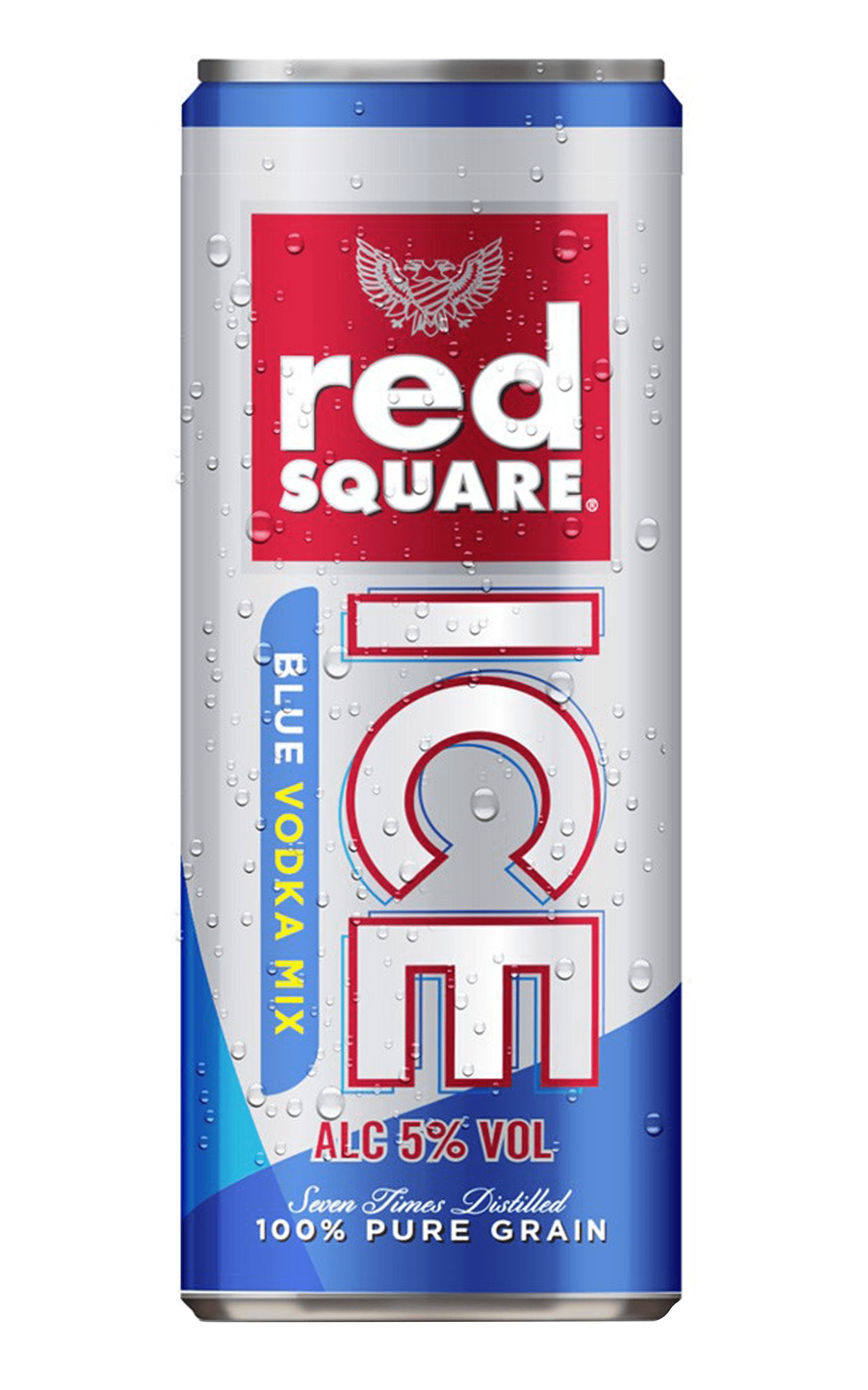 Red Square Vodka Ice Blue Premix