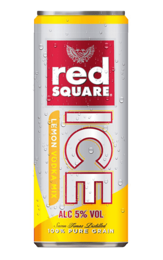 Red Square Vodka Ice Lemon premix