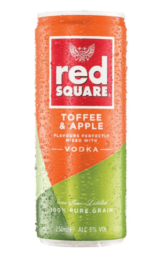 Red Square Toffee & Apple premix