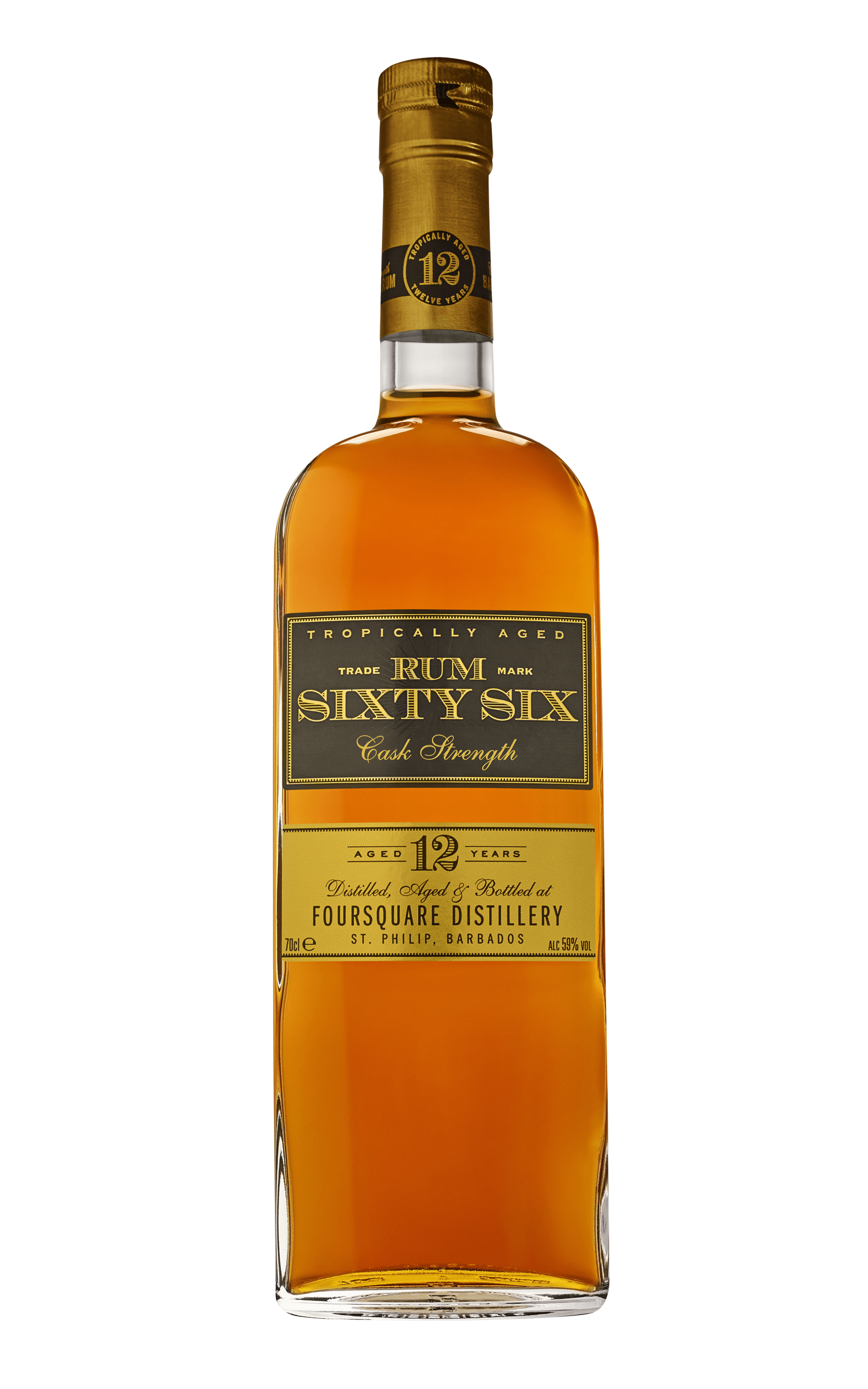 Rum Sixty Six 12 years old cask strength