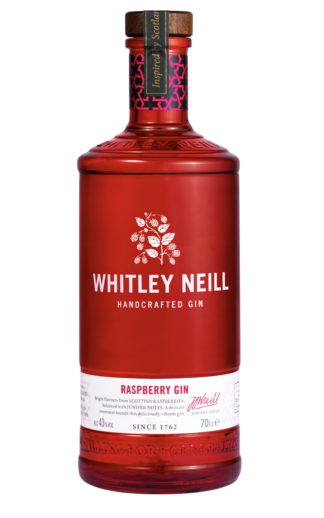 whitley neill raspberry gin 70cl bottle