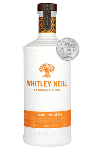 whitley neill blood orange gin 70cl bottle