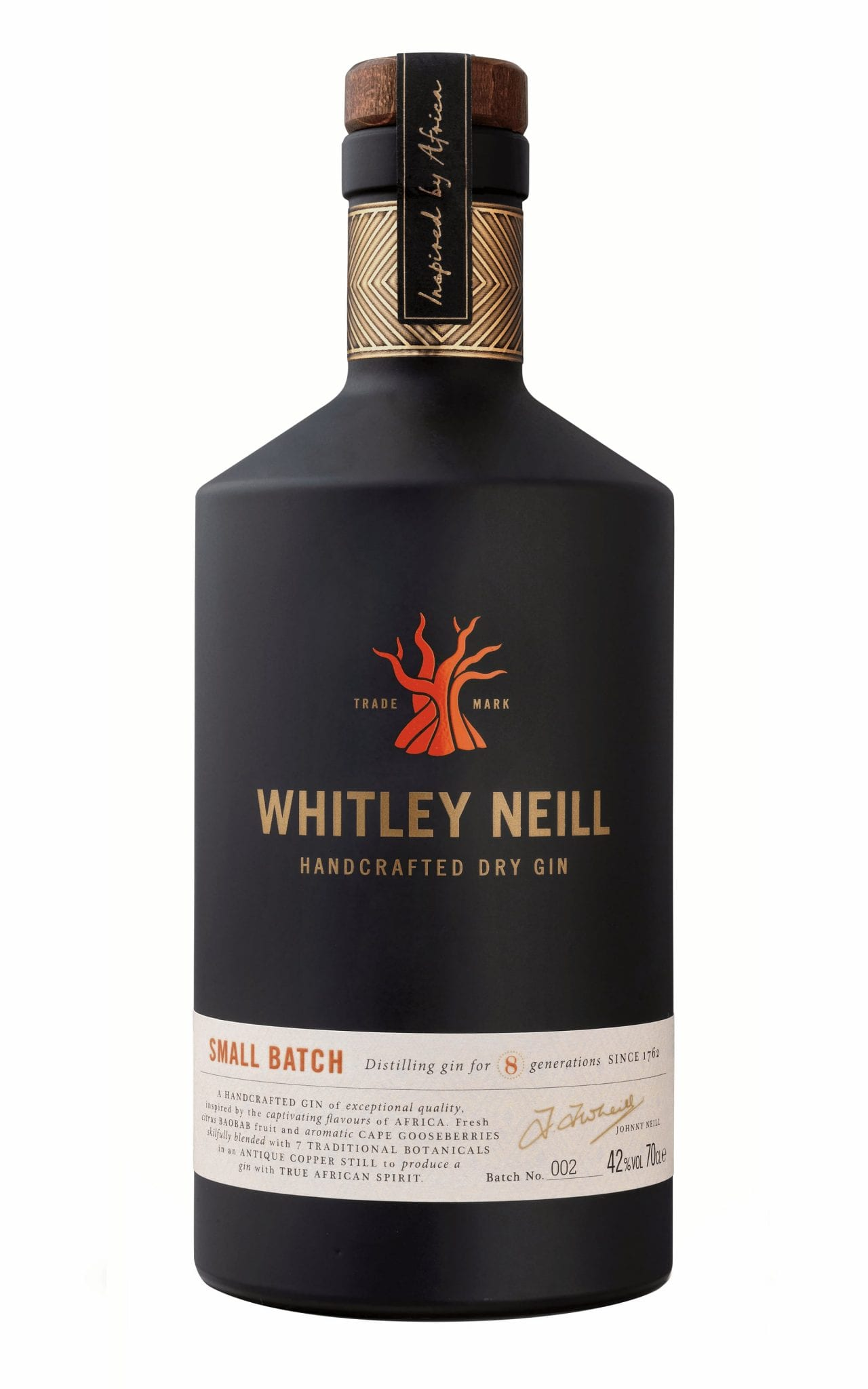 Whitley Neill Dry Gin 70cl