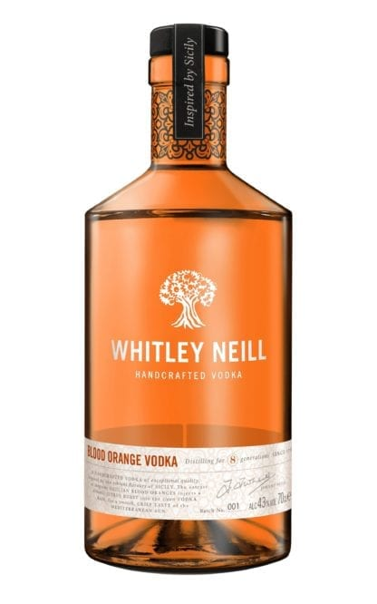 Whitley Neill Orange Vodka 70cl