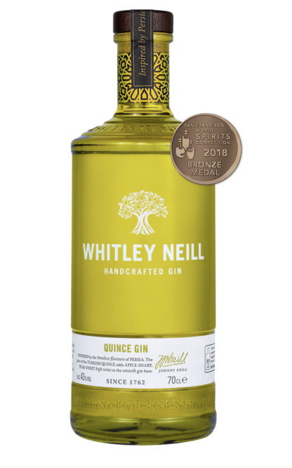 whitley neill quince gin 70cl bottle