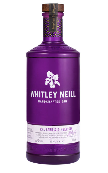 whitley neill rhubarb and ginger gin 70cl bottle