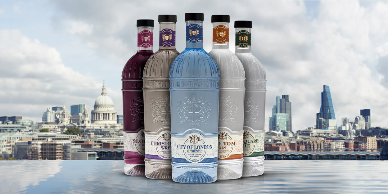 City of London Gin range