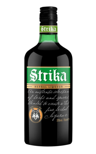 Strika herbal liqueur