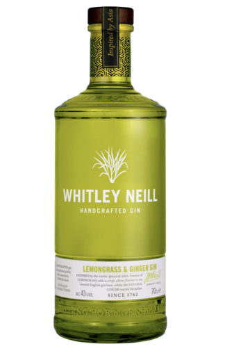 whitley neill lemongrass ginger gin 70cl bottle