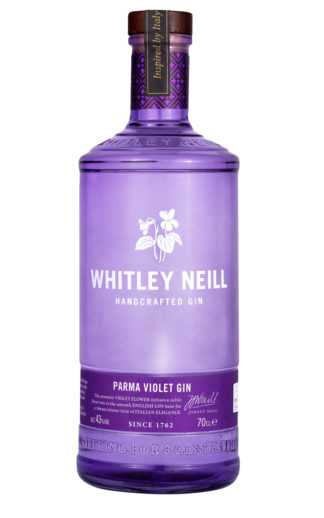 whitley neill parma violet gin 70cl bottle