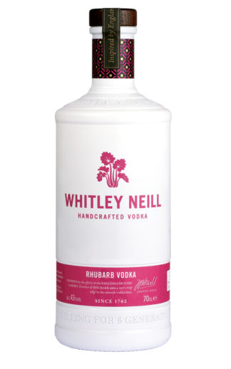 whitley neill rhubarb vodka 70cl bottle