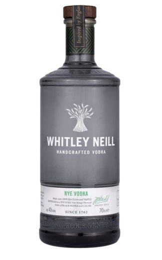 whitley neill rye vodka 70cl bottle