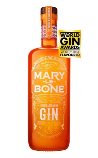 Award-winning Mary-le-Bone Orange and Geranium Gin