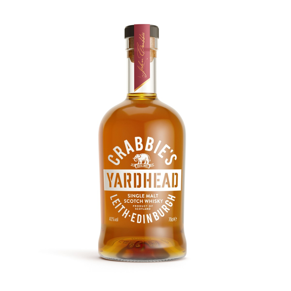 Crabbie Yardhead Single Match Scotch Whisky