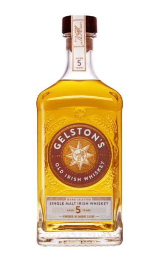 Gelston's Irish Single Malt Whiskey Aged 5 Years Finished in Sherry Casks