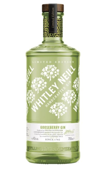 Whitley Neill Limted Edition Gooseberry Gin