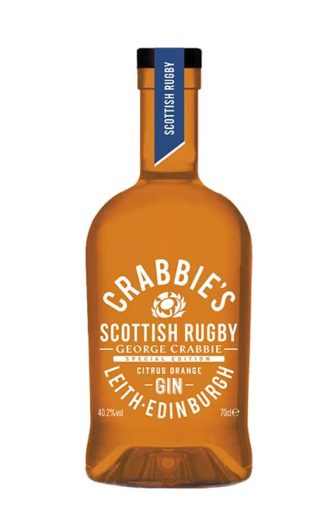 Crabbie's Limited Edition Scottish Rugby Citrus Orange Gin