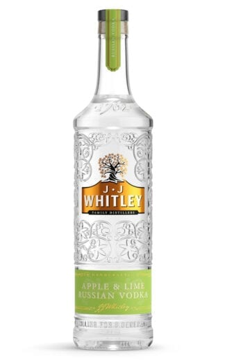 JJ Whitley Apple and Lime Russian Vodka
