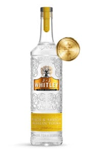 JJ Whitley peach and Apricot Russian Vodka