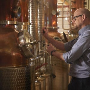 Johnny Neill at the City of London Distillery